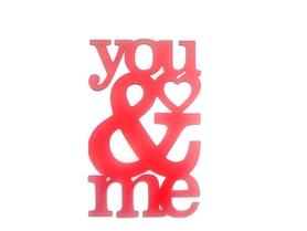 (P22) Napis You&Me