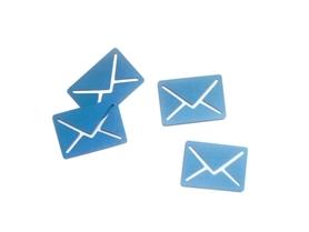 (P23) Koperta Mail Wiadomość List 10szt.