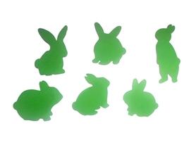 (P77) Zestaw zajączków/królików WIELKANOC 6 szt.