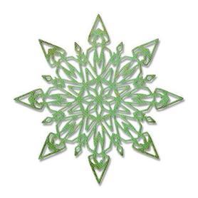 Wykrojnik Sizzix Thinlits Die Flurry #1 Śnieżynka