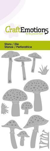 Wykrojnik Mushrooms - Grzyby - 0221