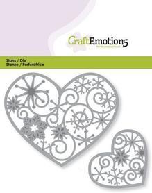Wykrojnik Heart Ornaments - Serca ażurowe 0351