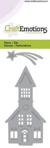 Wykrojnik Church - Kościół i gwiazda 0134