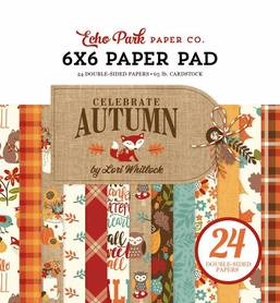 Zestaw papierów Echo Park - Celebrate Autumn 15x15