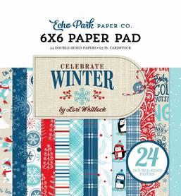 Zestaw papierów Echo Park - Celebrate Winter 15x15cm