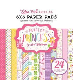 Zestaw papierów Echo Park - Perfect Princess 15x15cm