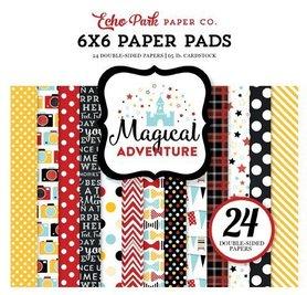 Zestaw papierów Echo Park - Magical Adventure 15x15cm