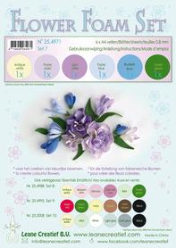 25.4971 Pianka do wykonywania kwiatków A4-zestaw 7