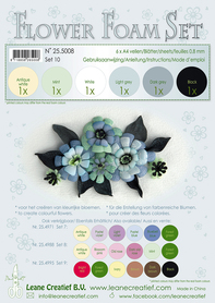25.5008 Pianka do wykonywania kwiatków A4-zestaw 10