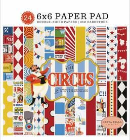 Zestaw papierów Carta Bella - Circus 15x15cm