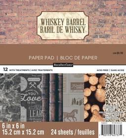 Zestaw papierów Whiskey Barrel - 15x15 cm