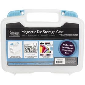 Walizeczka do przechowywania wykrojników z arkuszami magnetycznymi
