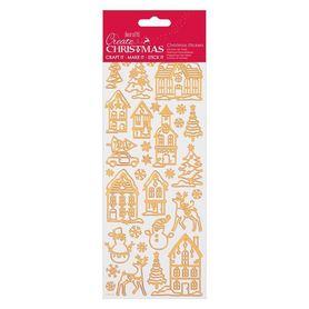 Zestaw naklejek świątecznych (810927)