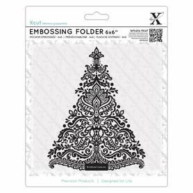 Folder do embossingu Arts&Crafts Tree  Choinka