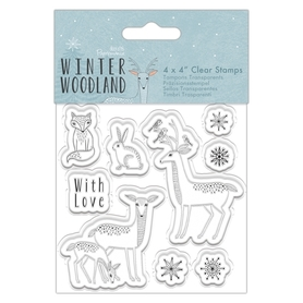 PMA907974 Stempel Winter Woodland - Zwierzątka