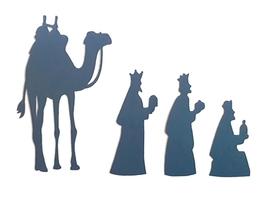 SCRAPKI (P126) Trzej Królowie i Wielbłąd Święta