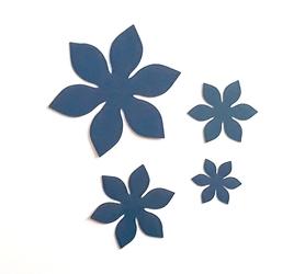 SCRAPKI (P127) Zestaw 4 kwiatków
