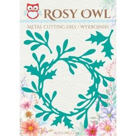 Wykrojnik Rosy Owl - Wianek zimowy - 3 el.