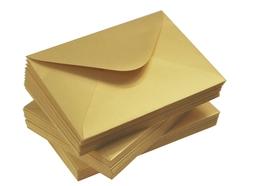 Koperta ozdobna złota C6 120 g