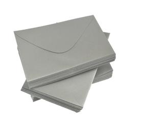Koperta ozdobna srebrna C6 120 g