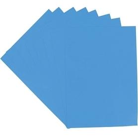 Papier kolor niebieski A4 160g - 5 szt.
