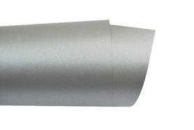 Papier ozdobny perłowy A4 120g - Srebrny