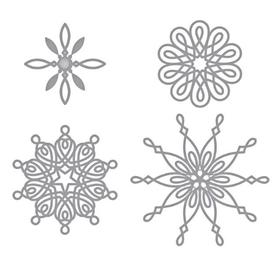 Wykrojnik Cztery śnieżynki (BD2892)