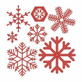 Wykrojnik First Edition Snowflakes - Śnieżynki