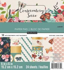 Zestaw papierów Conservatory - 15x15 cm