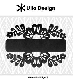 Wykrojnik ULLA DESIGN Ramka kwiatowa (1118-1)