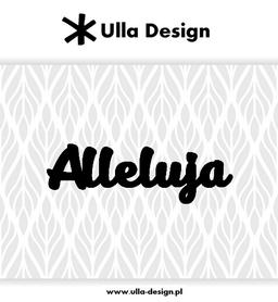 Wykrojnik ULLA DESIGN Alleluja (1118-3)