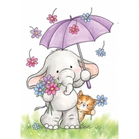 Stempel WRS CL514 Bella with Umbrella
