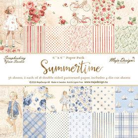 Zestaw papierów Summertime 15x15