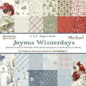 Zestaw papierów Joyous Winterdays 15x15