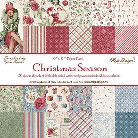 Zestaw papierów   Christmas Season   15x15