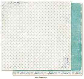 Arkusz 30x30 cm Denim & Friends - Streetwear