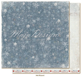 Arkusz 30x30 cm Joyous Winterdays - Blizzard