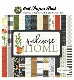 Zestaw papierów Carta Bella - Welcome Home 15x15cm