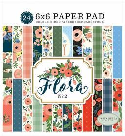 Zestaw papierów Carta Bella -  Flora no.2 15x15cm