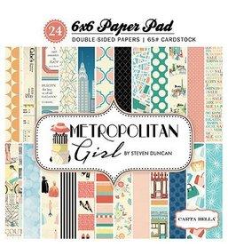 Zestaw papierów Carta Bella Metropolitan Girl 15x15cm