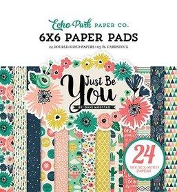 Zestaw papierów Echo Park - Just Be You 15x15 cm