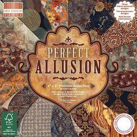 Zestaw papierów First Edition Perfect Allusion 15x15