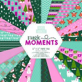 Zestaw papierów Paper Addicts Magic Moments 30x30 cm