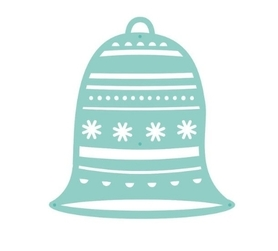 Wykrojnik Dzwonek świąteczny (DM0308)