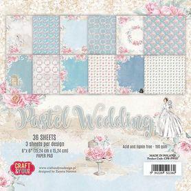 Zestaw papierów15x15 Pastel Wedding (CPB-PW15)