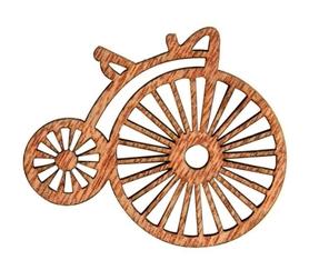 Ozdoba drewniana Bicykl