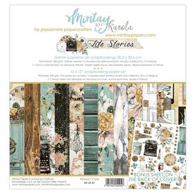 Zestaw papierów 30x30 - Mintay - Life Stories