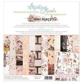 Zestaw papierów 30x30 - Mintay - Dear Diary