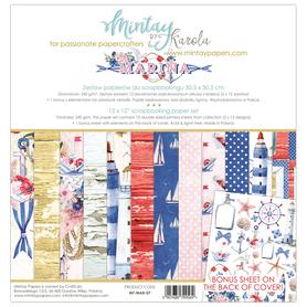 Zestaw papierów 30x30 - Mintay - Marina