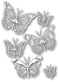 Wykrojnik Memory Box -Morning Garden Butterflies (30085)